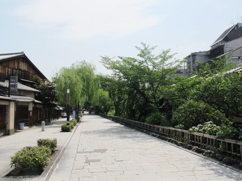 京都-白川通り