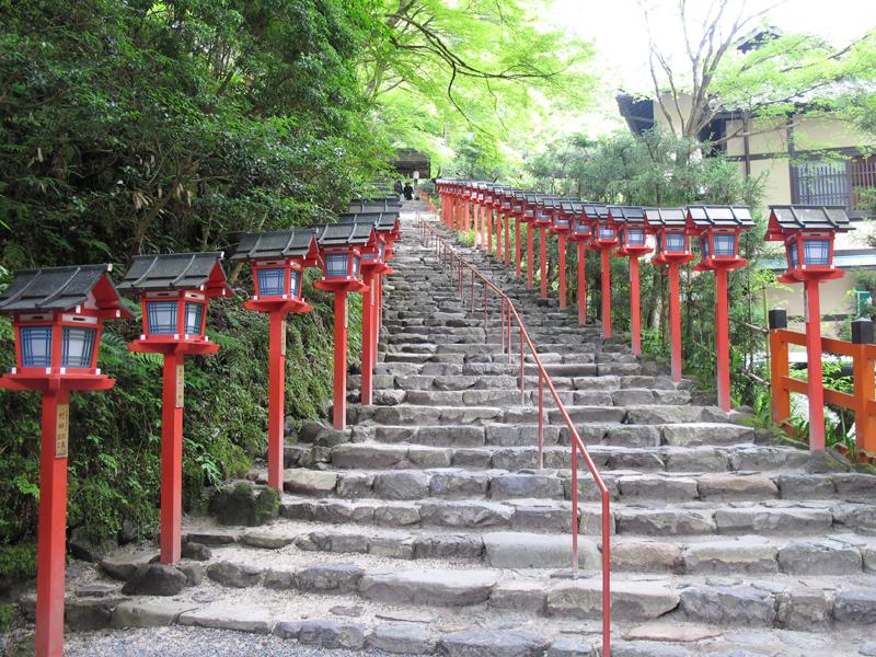 【一人旅におすすめ】パワースポット 貴船神社&鞍馬山