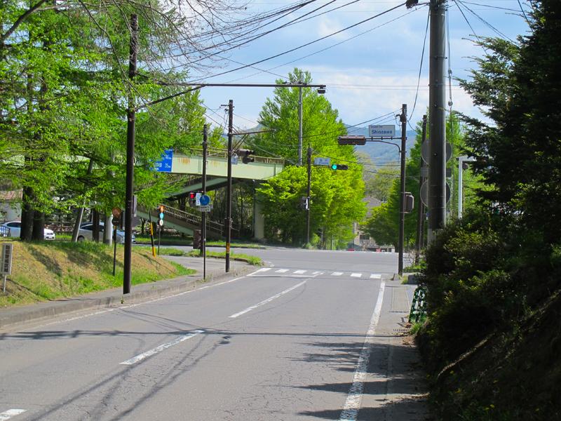 軽井沢〜タリアセン方面