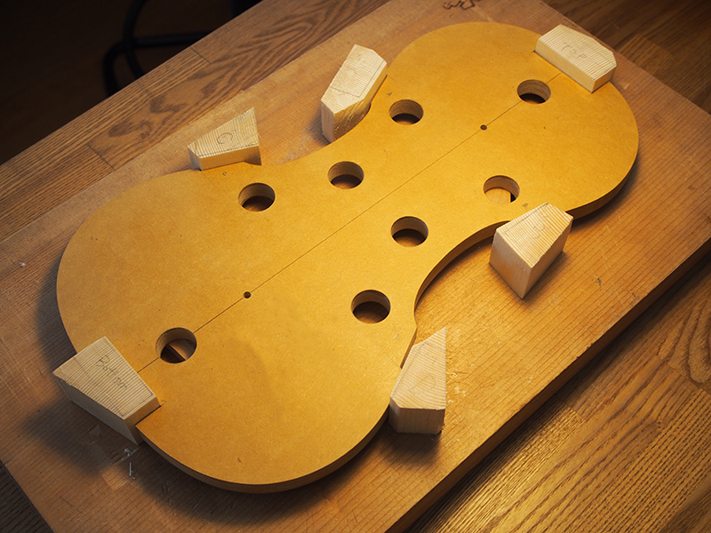 ヴァイオリン製作ブロック