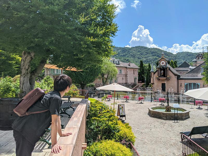 日本 ヨーロッパの街並み 河口湖 オルゴールの森美術館