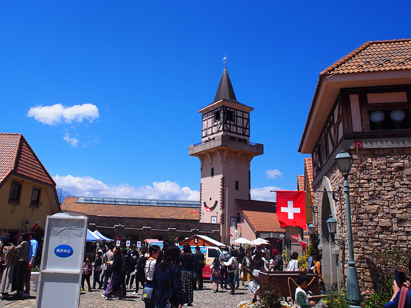 日本 ヨーロッパの街並み ハイジの村