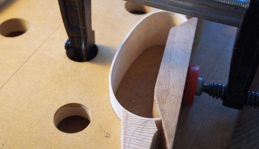 【ヴァイオリン製作】横板を組み立てていくVol.1