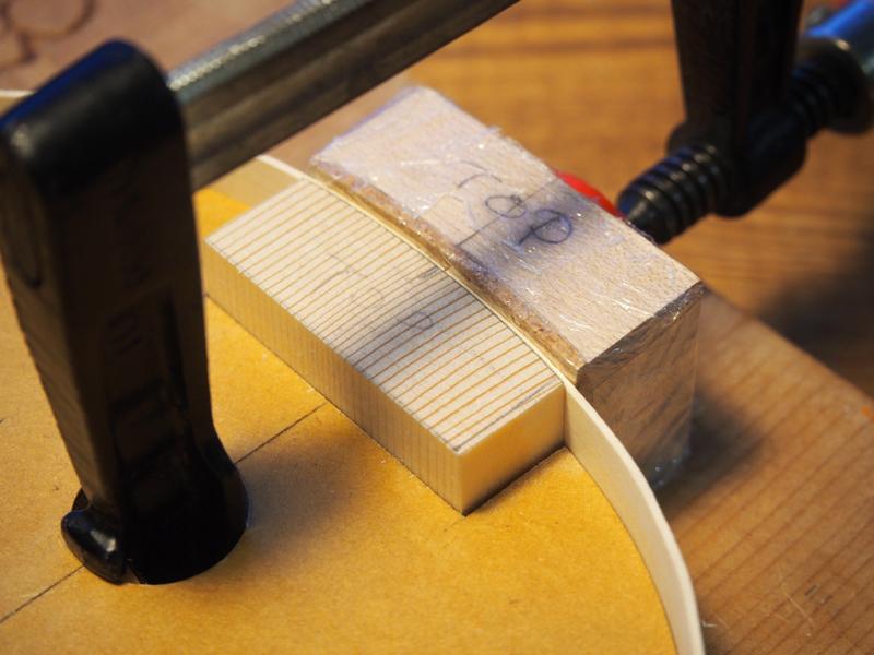 【ヴァイオリン製作】横板を組み立てていくVol.2