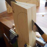 【ヴァイオリン製作】表板と裏板の切断