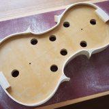 ヴァイオリン製作 横板