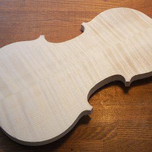 ヴァイオリン製作 裏板製作
