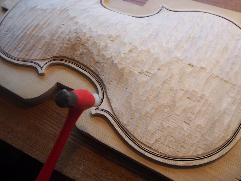 ヴァイオリン製作 パーフリング