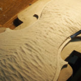 ヴァイオリン製作 表板 工程