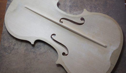 【ヴァイオリン製作】難関工程 バスバーの作り方