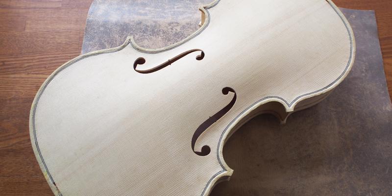 ヴァイオリン製作 ボディ