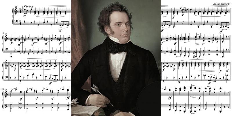 クラシック作曲家 シューベルト