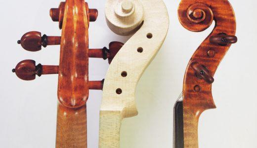 ヴァイオリン ネック