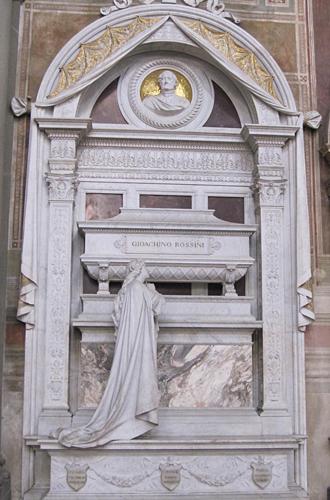 フィレンツェ ロッシーニの墓