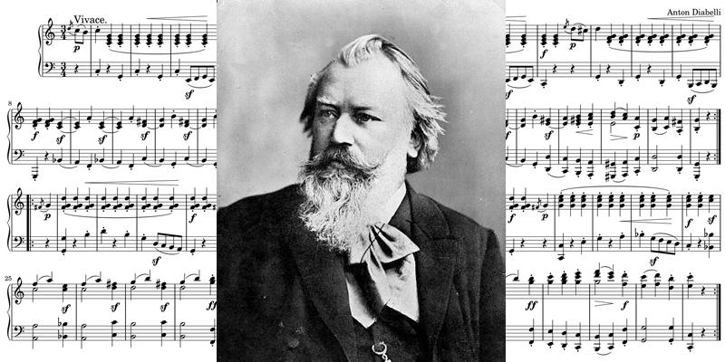 クラシック作曲家 ブラームス