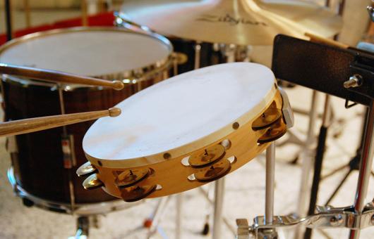 タンバリン 打楽器