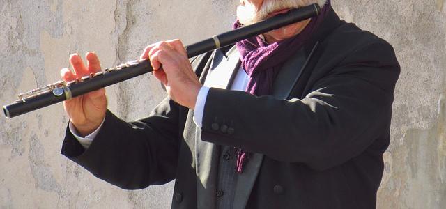 ケルト楽器 木製フルート