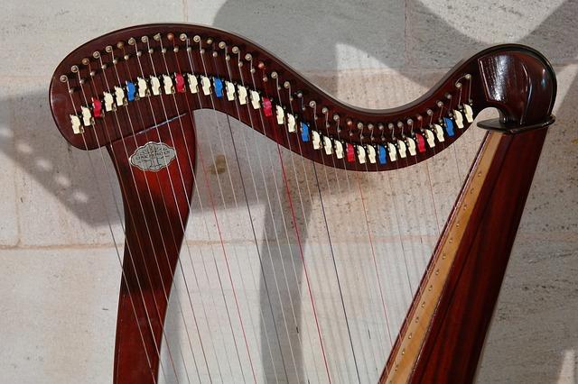ケルト音楽 ハープ