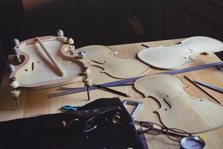ヴァイオリン製作