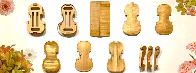 ヴァイオリン製作工程表