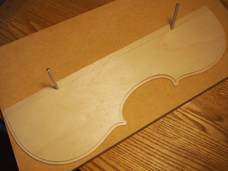 ヴァイオリン製作 テンプレート
