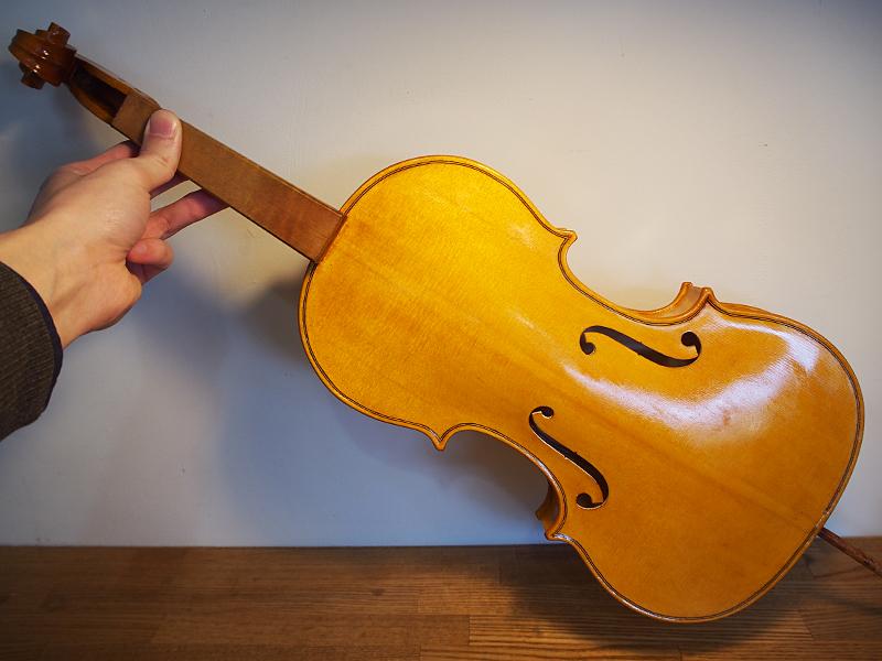 ヴァイオリン製作 ニス
