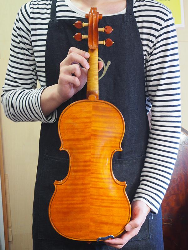手作りヴァイオリン