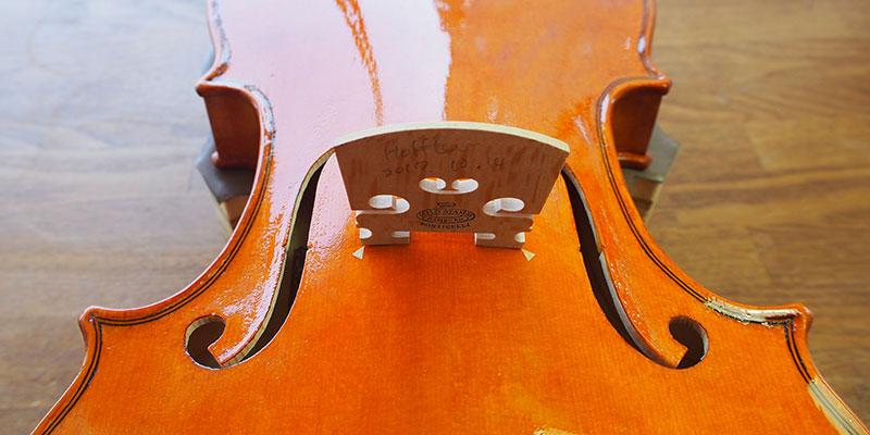 ヴァイオリン製作 駒