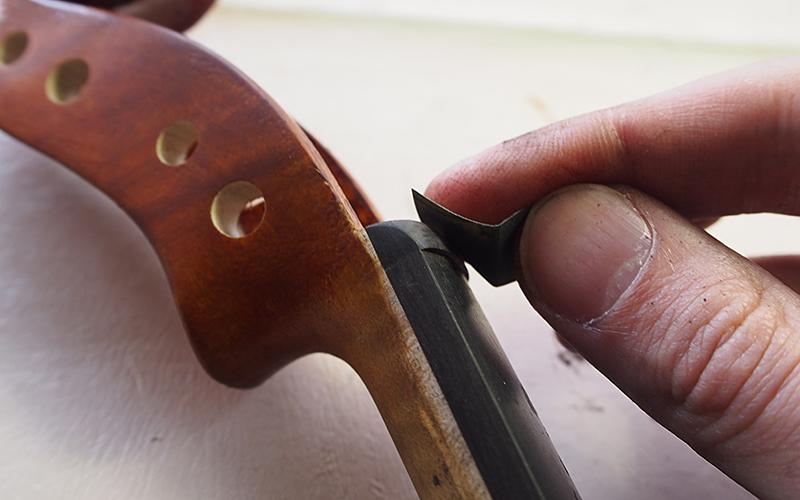 ヴァイオリン製作 ナット