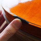 ヴァイオリン製作 サドルの作り方