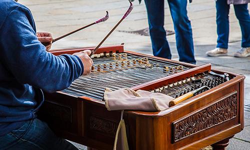 民族楽器 ツィンバロム