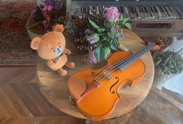 ヴァイオリン制作