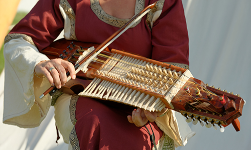 民族楽器 ニッケルハルパ