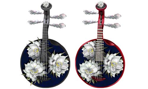民族楽器 月琴