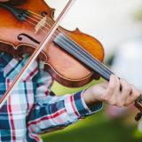 ヴァイオリン 野外