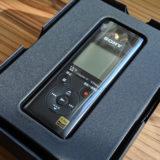 【ヴァイオリン】録音レコーダー「SONY PCM-A10」を買いました!