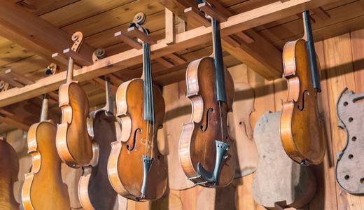 ヴァイオリン製作とパラレルキャリア