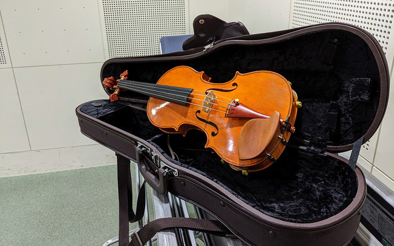 公民館 楽器練習