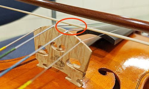 ヴァイオリン 弓 毛の量