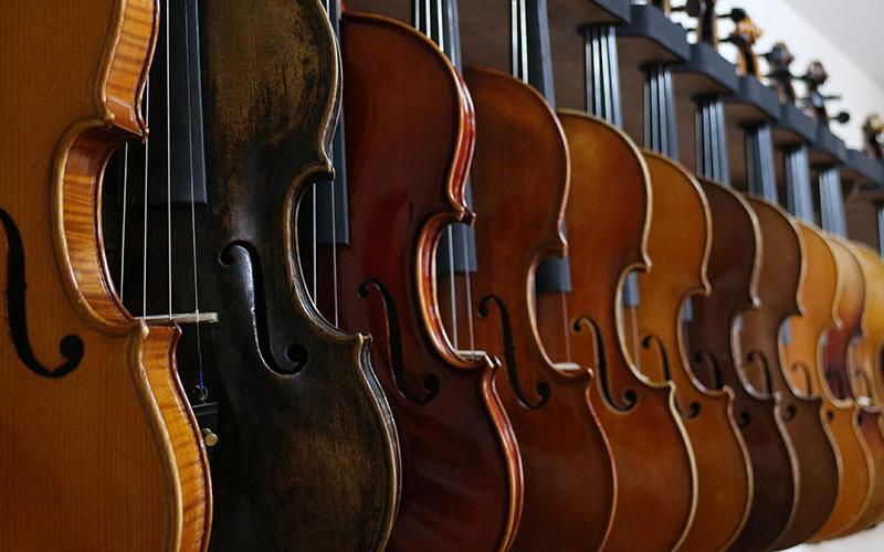 ヴァイオリン 乾燥 吊るす