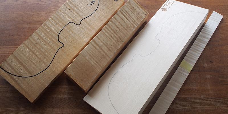 ヴァイオリン製作 木材 選び方
