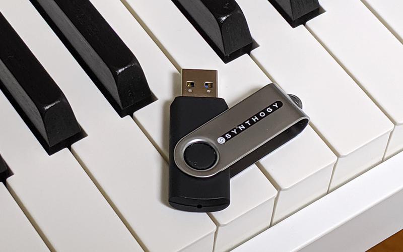 ivory USB インストール